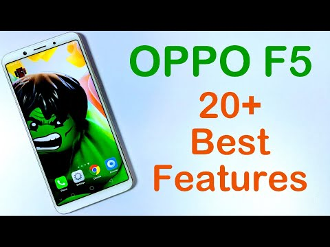 20+ Best Features OPPO F5 and Important Tips and Tricks