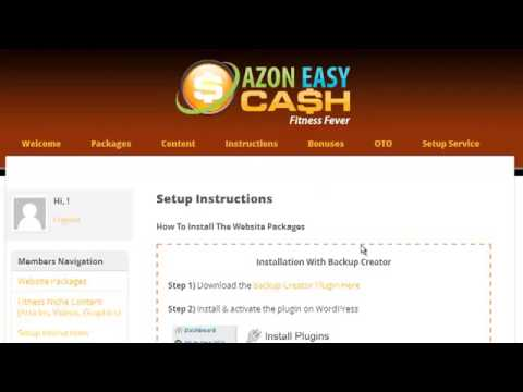 Azon Easy Cash OFFER Review | Jvzoo-reviews.com