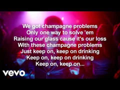 Nick Jonas - Champagne Problems [Official Lyrics]