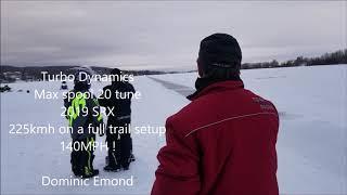 5. Turbo Dynamics 2019 season testing 154mph letting off 6 times 247kmh