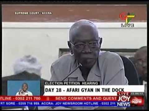 Election Petition Hearing on Joy News  - Day 28 (5-6-13)