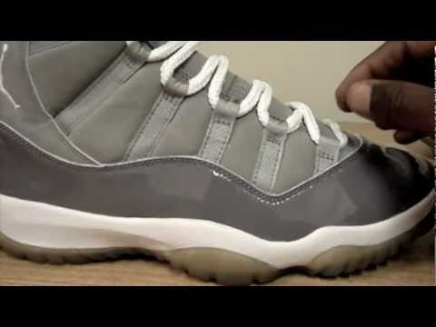 0 Air Jordan XI Cool Grey   Smoked Sole 2000 Sample