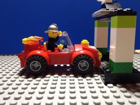 Vidéo LEGO Juniors 10661 : Ma première caserne des pompiers
