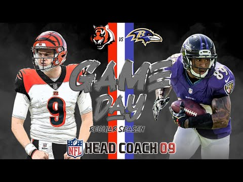 Season 9 | Bengals (2-0) vs. Ravens (1-1) | EP. 190 | NFL HEAD COACH '09