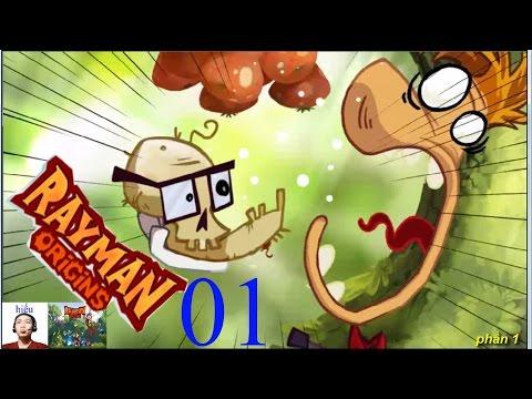 Rayman Origins game vui nhộn phần