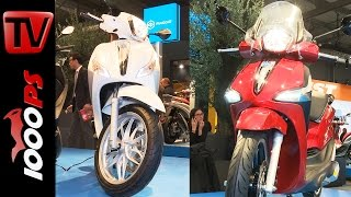 7. Piaggio New Liberty ABS and Medley S 125 ABS 2016