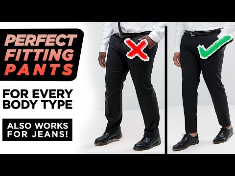 The Secret To PERFECT Fitting Pants | Men's Denim + Trousers | StyleOnDeck
