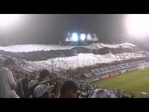 Recibimiento Olimpia. 17-04-16 vs Emelec - La Barra del Olimpia - Olimpia