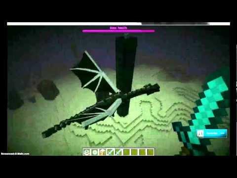 Как сделать портал в майнкрафте к дракону видео