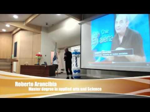 Roberto Arancibia en Seminario de Branding Digital Personas y Éxito en UBB