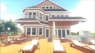 New Residence on Dune Road in Westhampton Beach, N.Y.