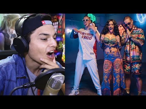 Video Cardi B, Bad Bunny & J Balvin - I Like It [Official Music Video] Reaccion download in MP3, 3GP, MP4, WEBM, AVI, FLV January 2017