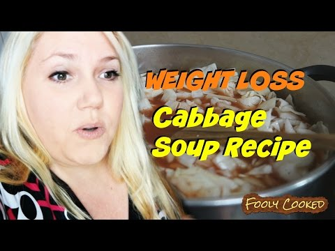 Easy Weight Loss Cabbage Soup Diet Recipe