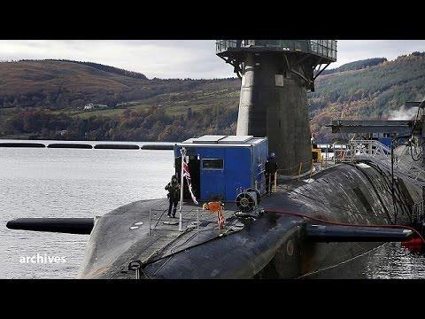 Βρετανία: Εγκρίθηκε η ανανέωση του πυρηνικού προγράμματος Trident