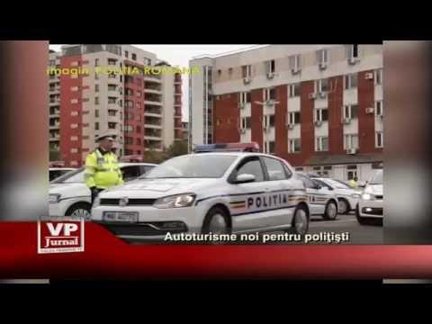 Autoturisme noi pentru politisti
