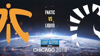 Fnatic vs Liquid - IEM Chicago 2018 - map2 - de_inferno [Anishared & SSW]