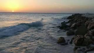 Sunset @ Casa Del Mar on Druif Beach, Aruba, July 2017.