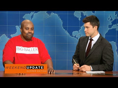 Weekend Update: LaVar Ball on Big Baller Brand - SNL