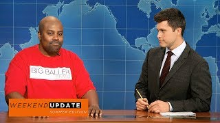 LaVar Ball (Kenan Thompson) stops by to discuss his son Lonzo's rookie year and Big Baller Brand clothing.Get more SNL: http://www.nbc.com/saturday-night-liveFull Episodes: http://www.nbc.com/saturday-night-liv...Like SNL: https://www.facebook.com/snlFollow SNL: https://twitter.com/nbcsnlSNL Tumblr: http://nbcsnl.tumblr.com/SNL Instagram: http://instagram.com/nbcsnl SNL Pinterest: http://www.pinterest.com/nbcsnl/