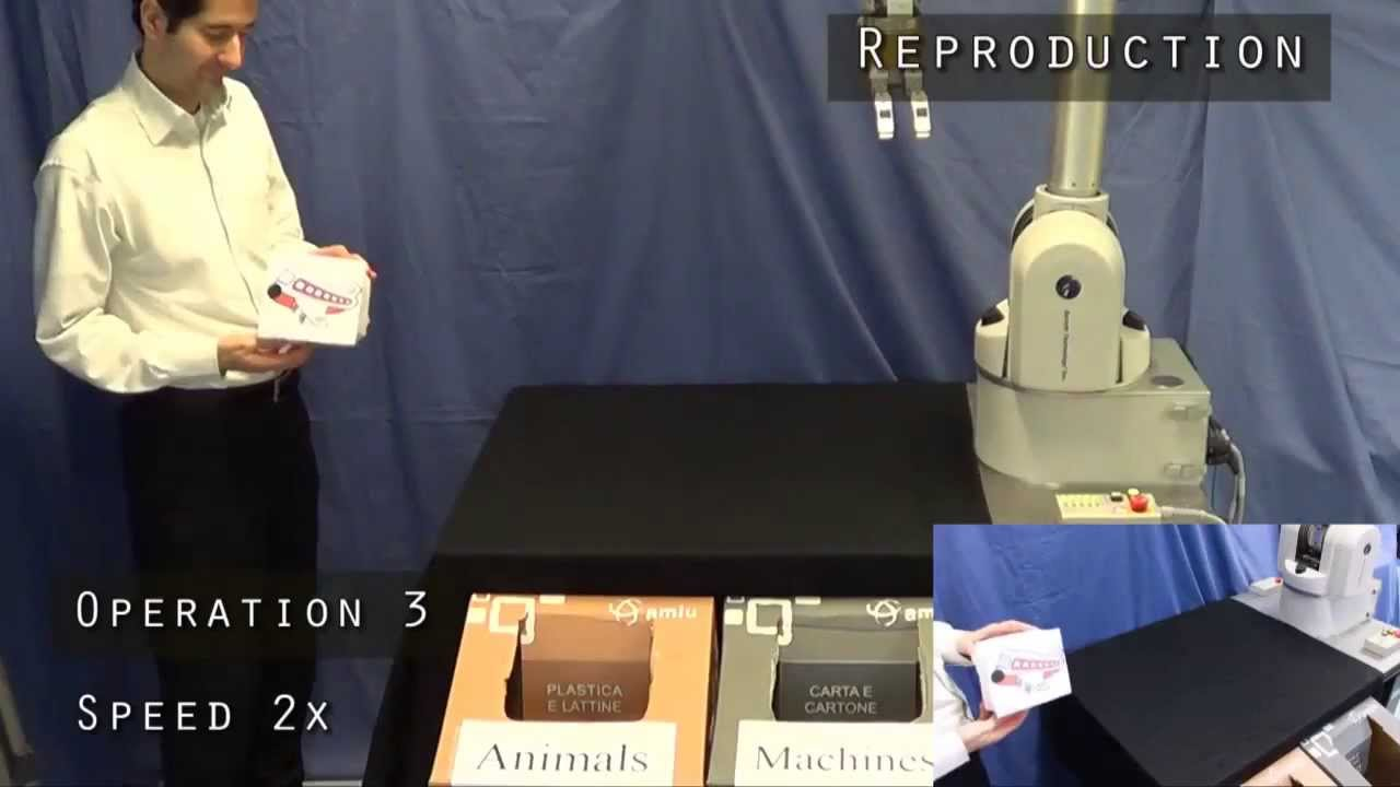Interactive robot learning of visuospatial skills. The so-called