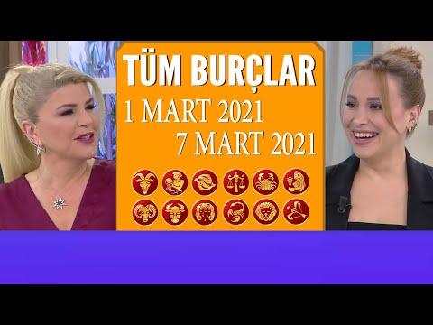 TÜM BURÇLAR | 1 Mart 2021-7 Mart 2021 | Nuray Sayarı'dan haftalık burç yorumları