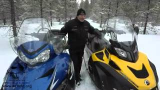8. Comparatif entre les Widetrack de Polaris et de BRP