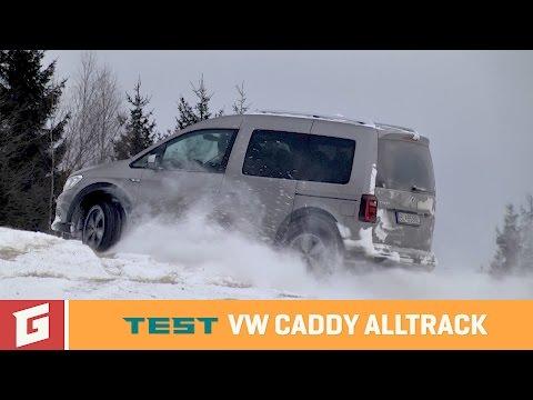 Volkswagen Caddy Alltrack - TEST - GARAZ.TV - Rasto Chvala