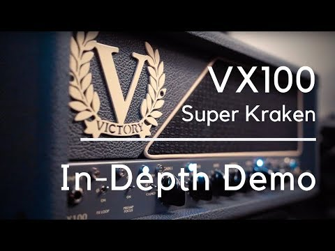 Victory VX100 Super Kraken | THE BEST MODERN ROCK/METAL AMP!!!