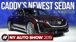 The 2020 Cadillac CT5 is an all-new sports sedan designed to take on the 3 Series by Roadshow
