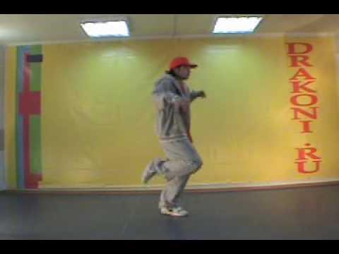 Обучающее видео hop-hop (хип-хоп): running man
