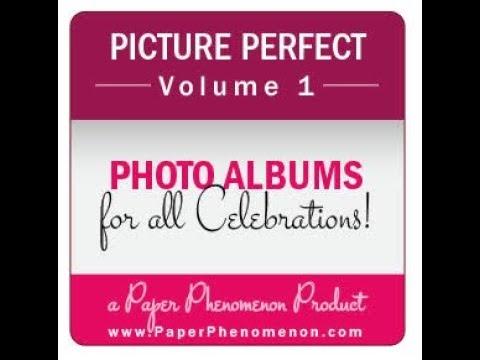 Picture Perfect Vol.  1 Scrapbook