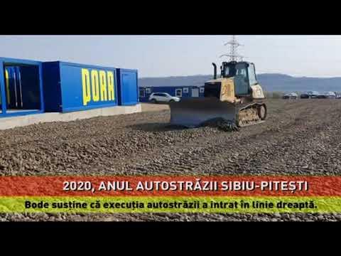 """Lucian Bode: """"2020, anul autostrăzii Sibiu-Pitești!"""""""