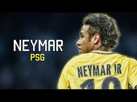 Neymar First Match For PSG - Skills & Goals 2017/2018 HD