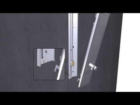 OBLIQUA - Installazione colonna doccia