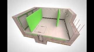 Basement Waterproofing, Newton System 500