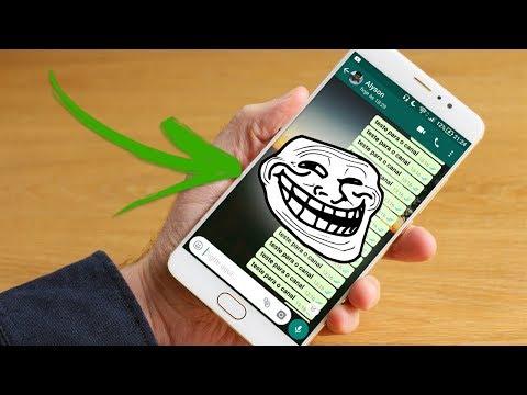 Como trollar amigo no WhatsApp - Mande várias mensagens de uma vez