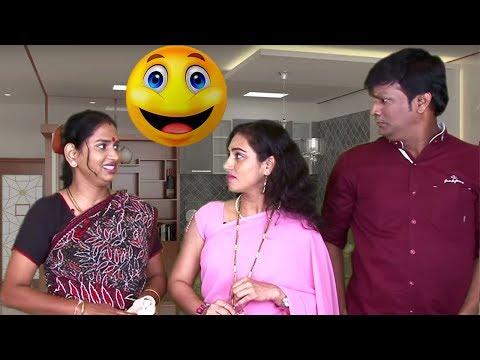 Lay Chavat Kaamvali Bai   Funny Maid   Marathi Latest Comedy Jokes
