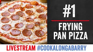 Frying Pan Pizzas - Livestream 1 #cookalongabarry by  My Virgin Kitchen