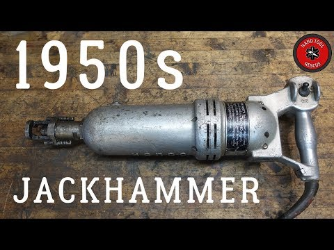 This guys channel is amazing, no words, he just restores old tools. In this one: 1950's Jackhammer