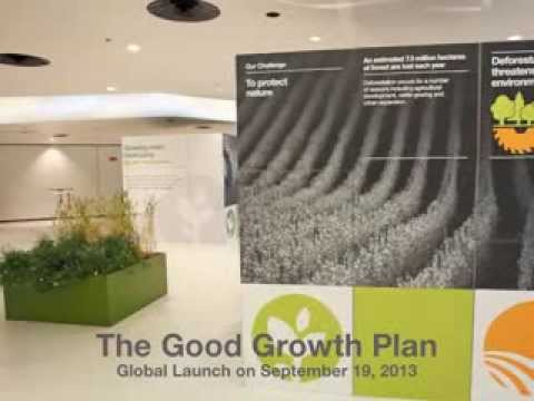 Our global launch of the Good Growth Plan