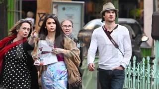 Ian and Nina in Love in Paris