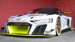 WORLD EXCLUSIVE Audi R8 LMS GT2 First Look: 2019 Goodwood FoS | Carfection by Carfection