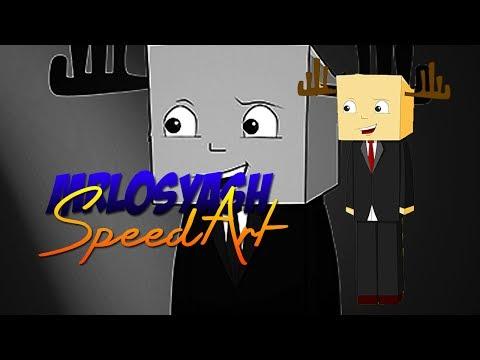 Minecraft Speed Art - MrLosyash