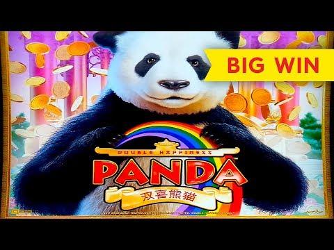 AWESOME SESSION! Double Happiness Panda Slot - $4.40 | $8.80 | $11 Progressive Betting!