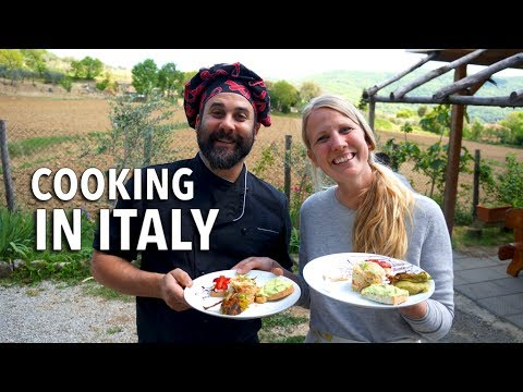 BEST Experience: Cooking Class In Tuscany | Chef Ryan