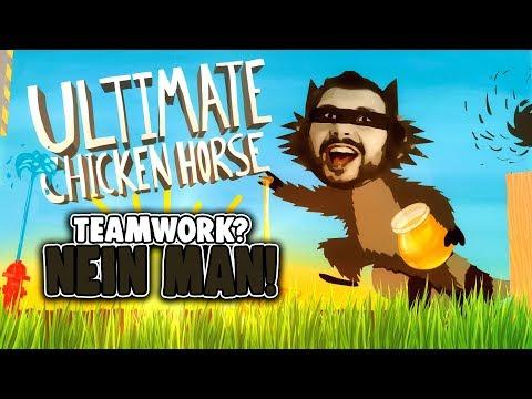 HWSQ #64 - Teamwork? NEIN MAN! | Ultimate Chicken Horse