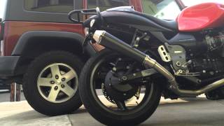 7. 2004 Moto Guzzi v11 Sport Ballabio Mistral Crossover and Exhaust
