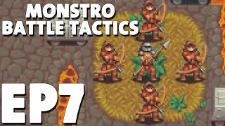 Let's Play Monstro Battle Tactics Episode 8 - An Ass-ault - Turn Based Strategy Gameplay