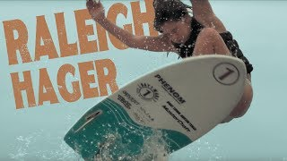 Raleigh Hager, 2x World Wake Surf Champion, has been on a non-stop road of progression in the sport of wake surfing since she took her first steps on Lake Au...