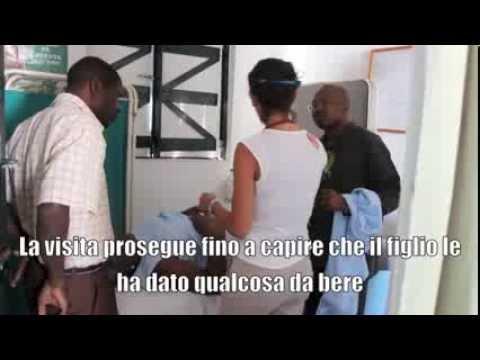 Una giornata tra i malati di Haiti